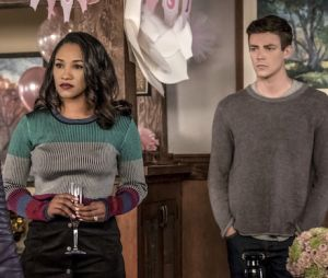 "Em ""The Flash"", Nora (Jessica Parker Kennedy) fica presa no presente e precisa da ajuda de Barry (Grant Gustin) e Iris (Candice Patton)"