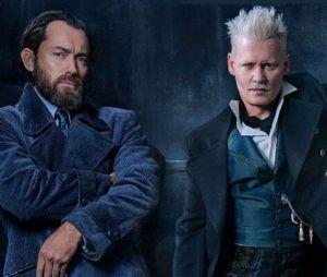 """Em """"Animais Fantásticos 2"""", Dumbledore (Jude Law) e Grindelwald (Johnny Depp) terão sexualidade explorada"""