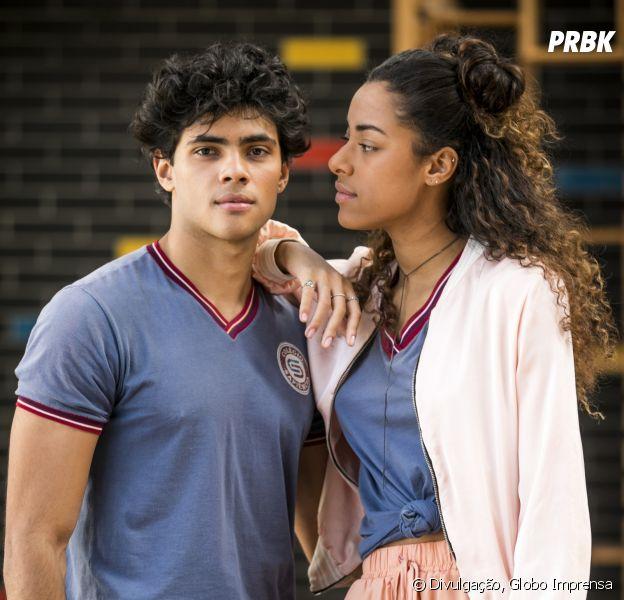 """Em """"Malhação Vidas Brasileiras"""": Jade (Yara Charry) e Érico (Gabriel Fuentes) nasceram pra ficar juntos! Veja provas"""