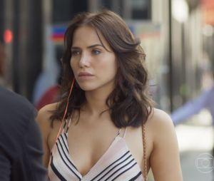 """Em """"Segundo Sol"""", Rosa (Letícia Colin) começará a espionar Laureta (Adriana Esteves)"""