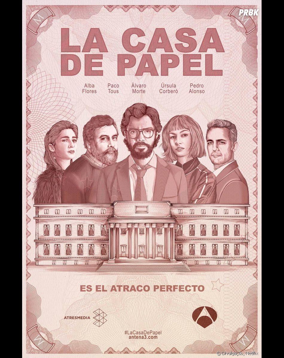 """Netflix divulga vídeo do início da produção da terceira parte de """"La Casa de Papel"""""""