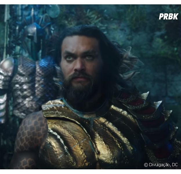 "Trailer de ""Aquaman"" mostra Mera (Amber Heard) lutando contra o vilão Arraia Negra (Yahya Abdul-Mateen II)"