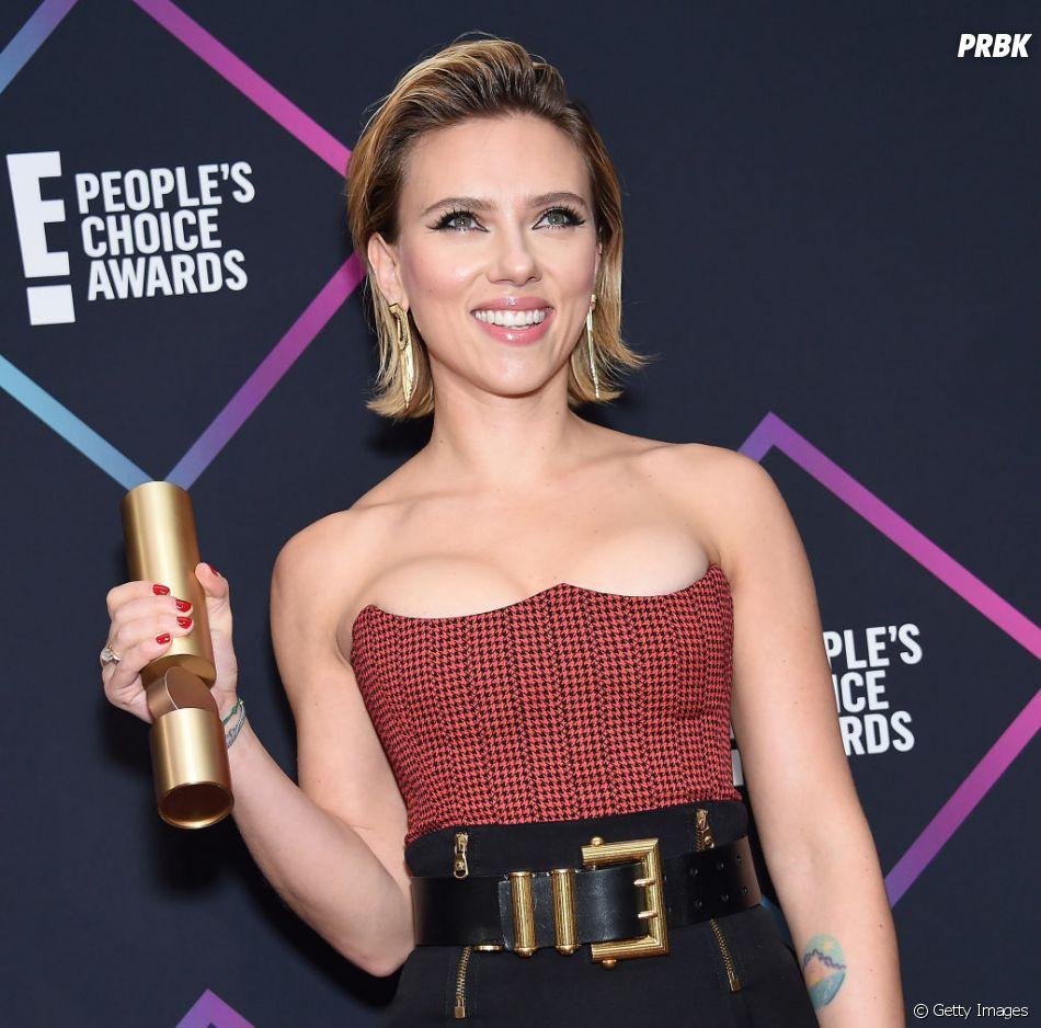 No People's Choice Awards 2018: Scarlett Johansson levou o prêmio de Melhor Atriz de Cinema