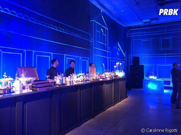 """O bar da festa de""""O Sétimo Guardião"""" estava aberto e pronto pra surpreender os convidados com os drinks"""