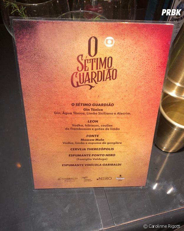 """Teve open bar na festa de """"O Sétimo Guardião"""""""