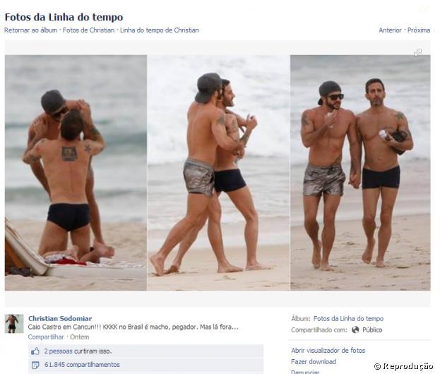 Post confunde fãs de Caio Castro e já tem mais de 60 mil compartilhamentos