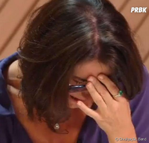"""No """"MasterChef Profissionais"""", Paola Carosella chora com eliminação"""