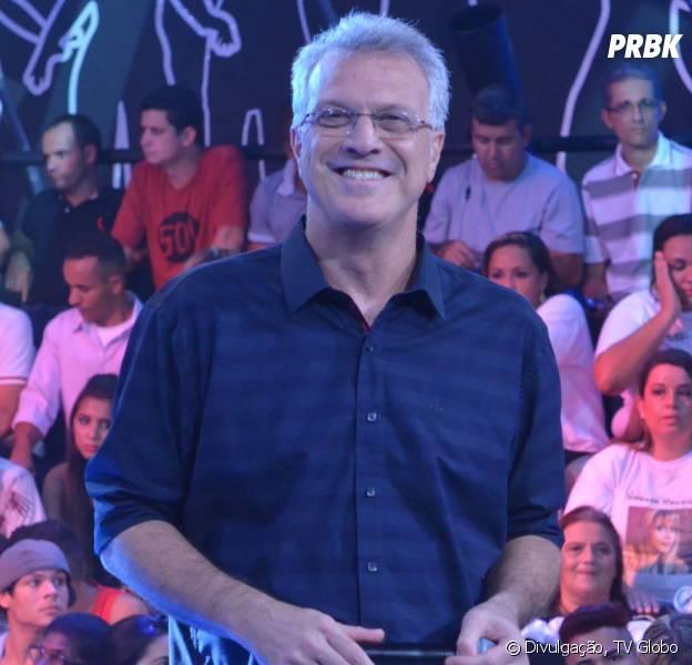 """Pedro Bial é o apresentador do """"Big Brother Brasil"""" desde sua primeira edição"""