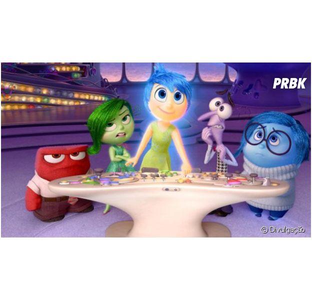 """""""Inside Out"""" estreia em junho de 2015 nos cinemas"""