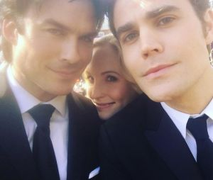 "Ian Somerhalder compartilha foto rara nos bastidores de ""The Vampire Diaries"" no Instagram"