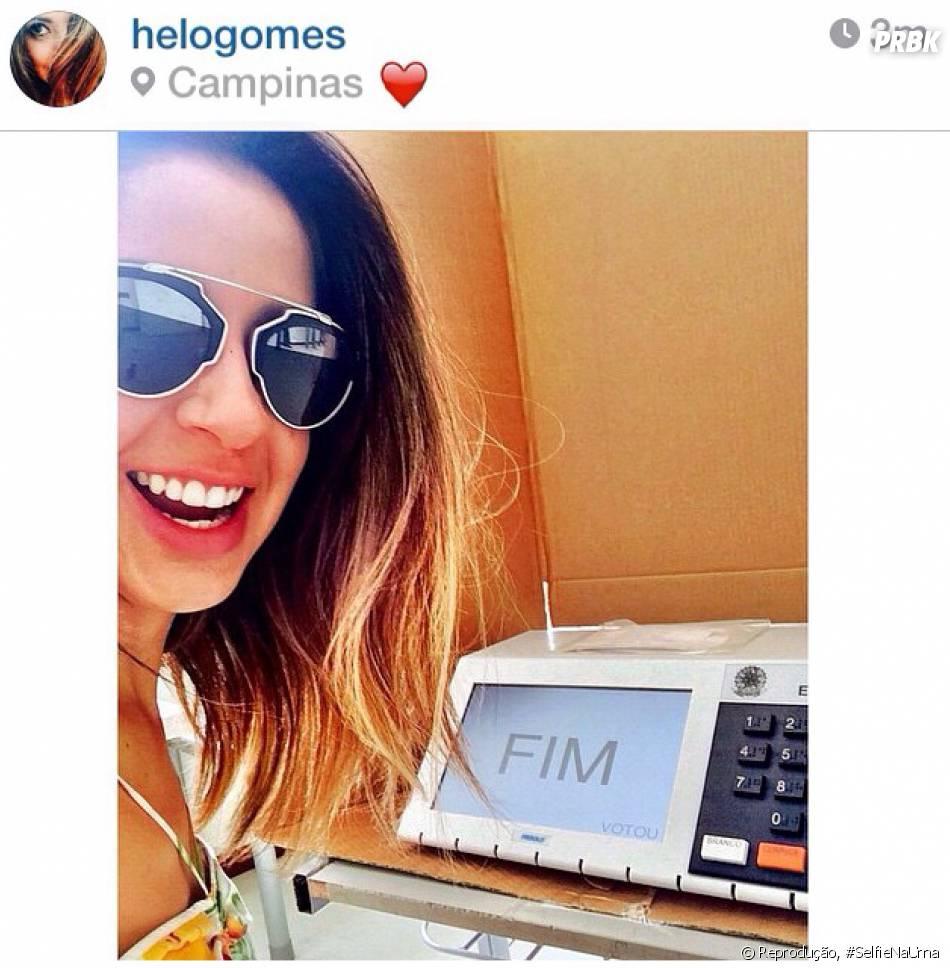 A blogueira Helô Gomes adora uma moda, ainda que ilegal
