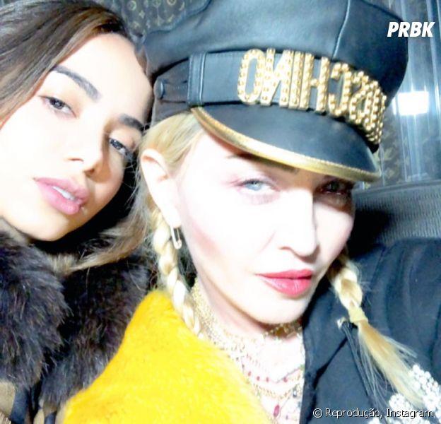 Anitta e Madonna estão juntas e ninguém está sabendo lidar com isso!
