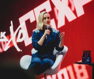 "De ""Capitã Marvel"", Brie Larson levou o público da CCXP 2018 à loucura!"