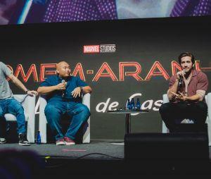 """Tom Holland, Jacob Batalon e Jake Gyllenhaal, de """"Homem-Aranha: Longe de Casa"""", falaram sobre o novo longa da Marvel com a Sony na CCXP 2018"""