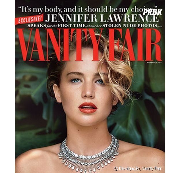 Jennifer Lawrence faz ensaio para a Vanity Fair e abre o jogo sobre o vazamento de fotos nuas