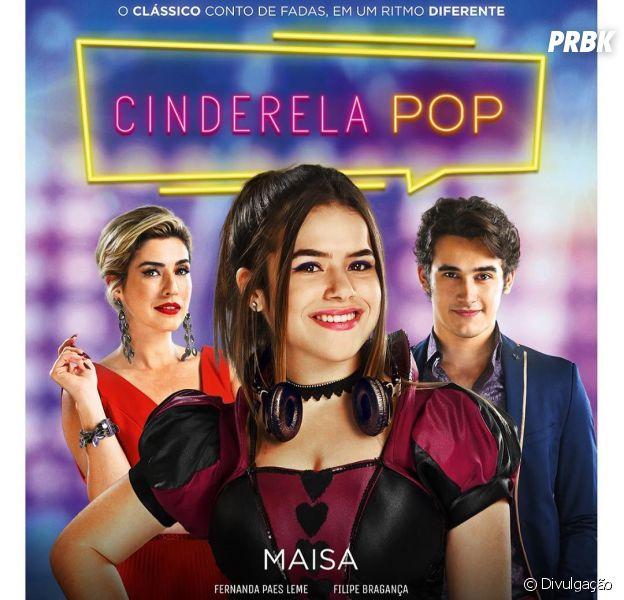 """Maisa divulga pôster oficial de """"Cinderela Pop"""""""