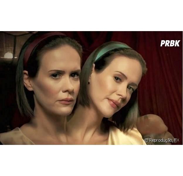 """O circo de horrores estreou no primeiro episódio de """"American Horror Story: Freakshow"""", na FX"""