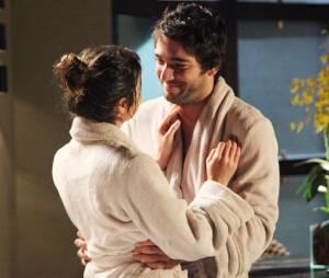 """Na novela """"Geração Brasil"""", Davi (Humberto Carrão) e Manu (Chandelly Braz) estão se encontrando, mesmo namorando com Megan (Isabelle Drummond) e Arthur (Dudu Azevedo)"""