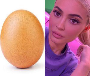 Kylie Jenner perde o posto de foto mais curtida do Instagram para um ovo