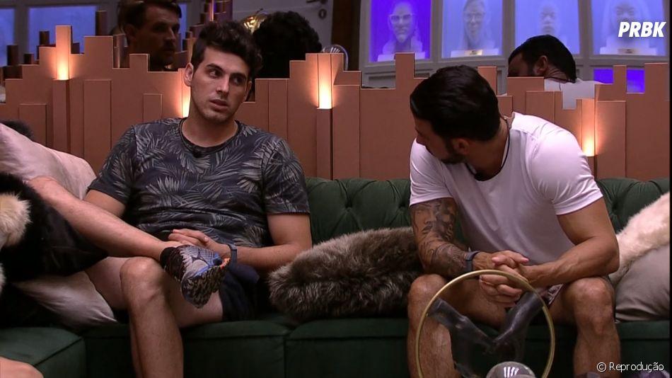 """No """"BBB19"""", Gustavo, Diego e Maycon declaram suas opções de voto"""