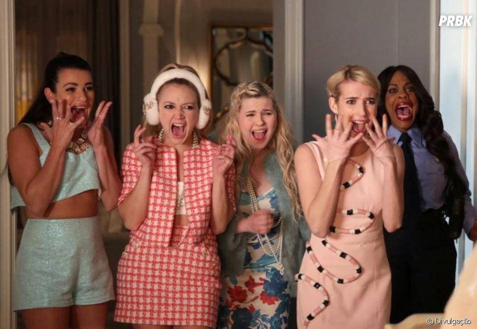 """""""Scream Queens"""" foi cancelada na 2ª temporada"""