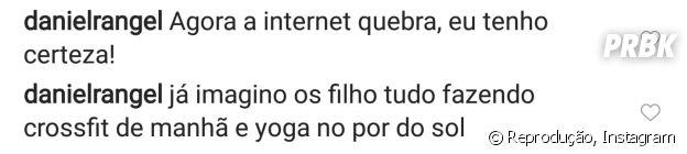 """De """"Malhação"""", ator """"confirma"""" namoro entre André Luiz Frambach e Rayssa Bratillieri"""