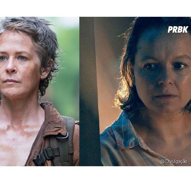 """Em """"The Walking Dead"""", Carol (Melissa McBride) e Alpha (Samantha Morton)vão entrar em um embate!"""