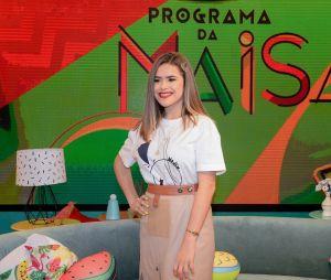 """Maisa revelou que a abertura do """"Programa da Maisa"""" é """"Buzina"""", da Pabllo Vittar"""