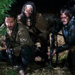 "Michonne e Daryl podem estar envolvidos no filme de ""The Walking Dead"", com Rick (Andrew Lincoln)"