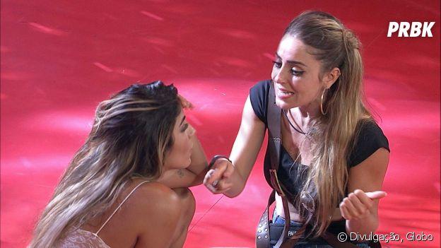 "No ""BBB19"", Paula e Hariany brigam após beijo de Rízia e Alberto"