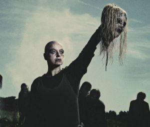 "De ""The Walking Dead"": Alpha (Samantha Morton) mostra exército de zumbis e Daryl (Norman Reedus) fica chocado"
