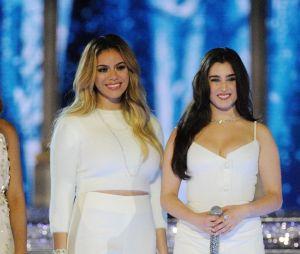 """Lauren Jauregui e Dinah Jane relembram época de Fifth Harmony cantando """"Work From Home"""" em um karaokê"""