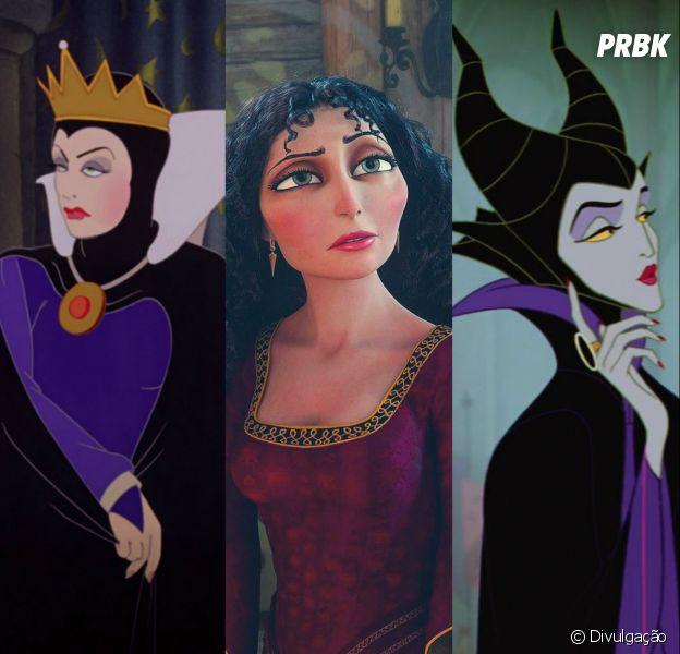 Escolha 5 novelas e diremos qual vilã da Disney você é