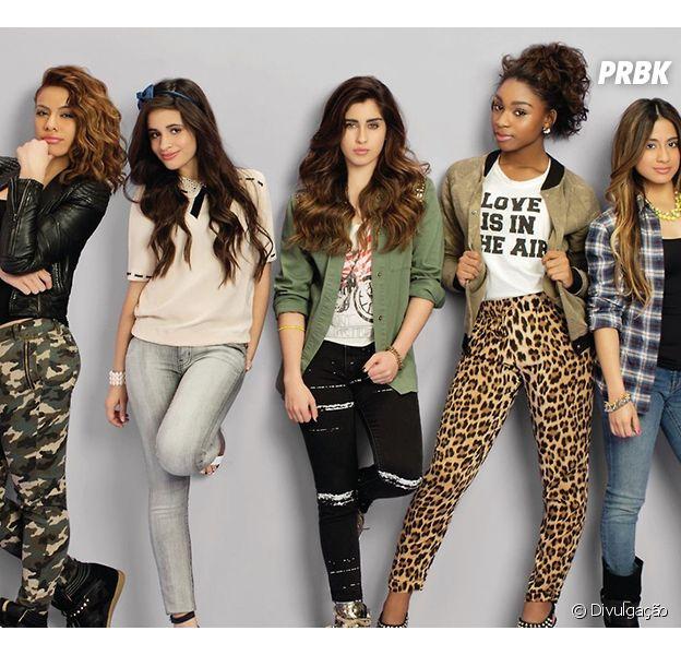 "Girl Band Fifth Harmony lança música nova para o CD ""Reflection"""