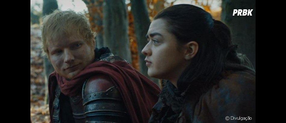 """Em """"Game of Thrones"""", personagem de Ed Sheeran teve fim trágico na série"""