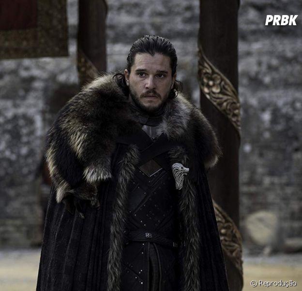 """Em """"Game of Thrones"""": Jon Snow (Kit Harington) continua na frente na fila para ser o Rei dos Sete Reinos"""