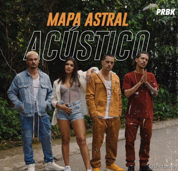 """Lary e 3030 lançam versão acústica de """"Mapa Astral"""""""