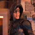 """Em """"Arrow"""", nova batalha entre Oliver (Stephen Amell) e Emiko (Sea Shimooka) será evidenciada no último episódio da 7ª temporada"""