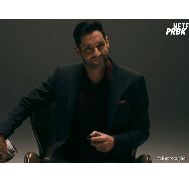 """Em """"Lucifer"""": Lucifer (Tom Ellis) mostra melhores momentos da série antes da estreia da 4ª temporada"""