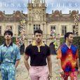 """Jonas Brothers lançaram """"Sucker"""" em fevereiro deste ano, o primeiro single depois da volta do trio"""