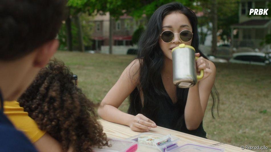 """Lana Condor como Allison em """"Um Amor Perigoso"""""""