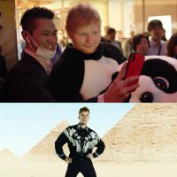 "Justin Bieber e Ed Sheeran divulgaram trechos do clipe de ""I Don't Care"""