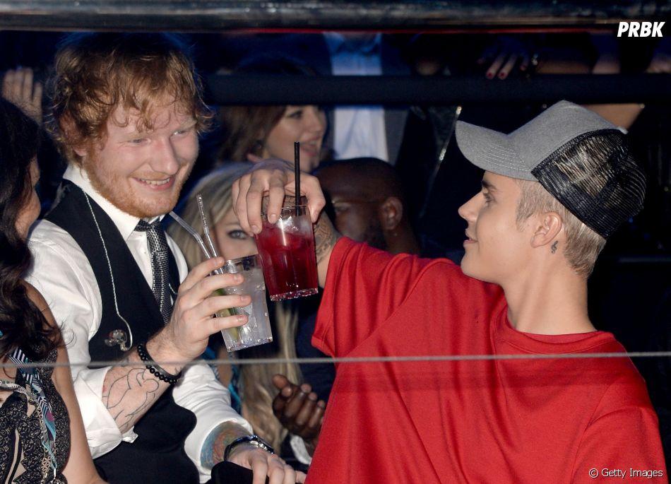 """Justin Bieber e Ed Sheeran mostram trechos do clipe de """"I Don't Care"""""""