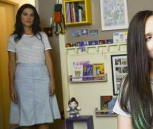 """Ângela Cristina (Ingrid Guimarães) e Manu (Larissa Manoela) protagonizam divertida história que encantou pessoas de todas as idades em """"Fala Sério, Mãe"""""""