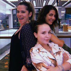 """Larissa Manoela e Ingrid Guimarães já estão reunidas pra discutir """"Fala Sério, Mãe 2"""""""