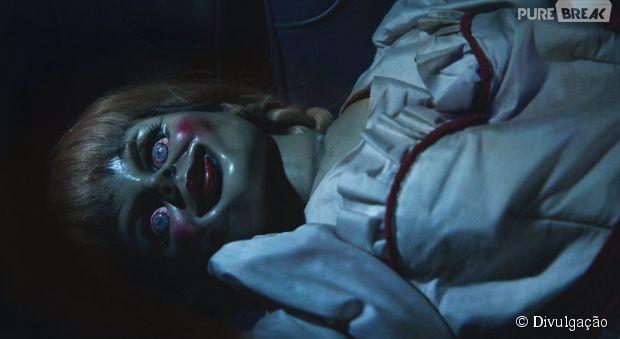 """O terror """"Annabelle"""" foi inspirado no longa """"Invocação do Mal"""""""
