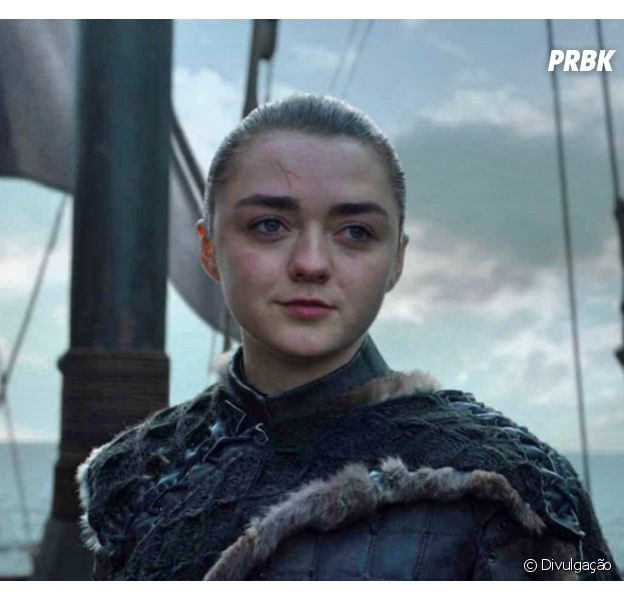 "Stephen King pede derivada de ""Game of Thrones"" baseada em Arya Stark (Maisie Williams)"