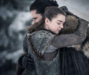 """História de Arya Stark (Maisie Williams) ficou cheia de pontas em """"Game of Thrones"""""""