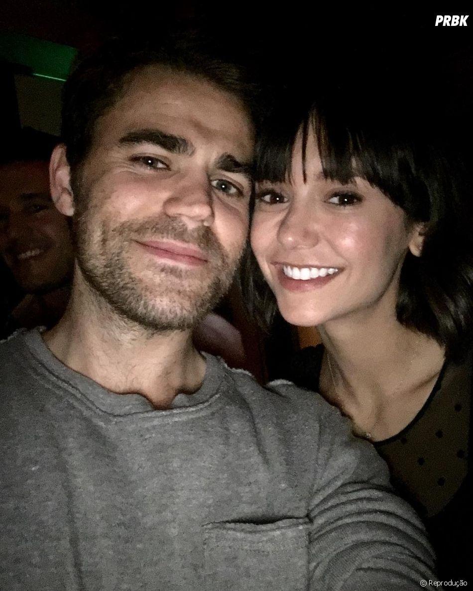 """Nina Dobrev não era fã de Paul Wesley nos primeiros 5 meses de """"The Vampire Diaries"""""""