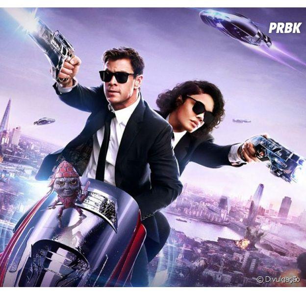 """""""MIB: Homens de Preto Internacional"""": com Chris Hemsworth e Tessa Thompson, veja o que o Purebreak achou do filme"""